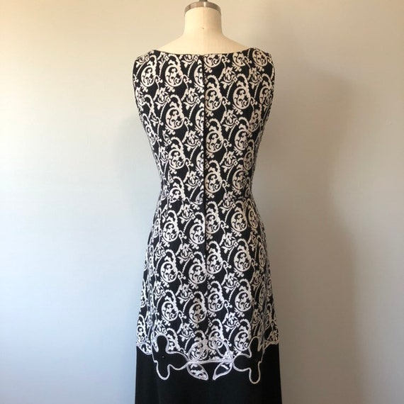 Rockabilly Vintage Dress/ Evening Gown / Beautifu… - image 8