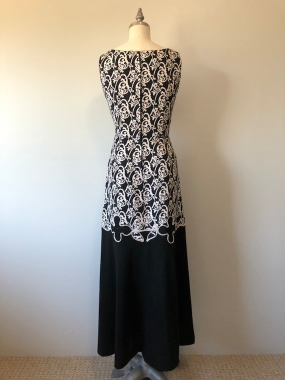 Rockabilly Vintage Dress/ Evening Gown / Beautifu… - image 9