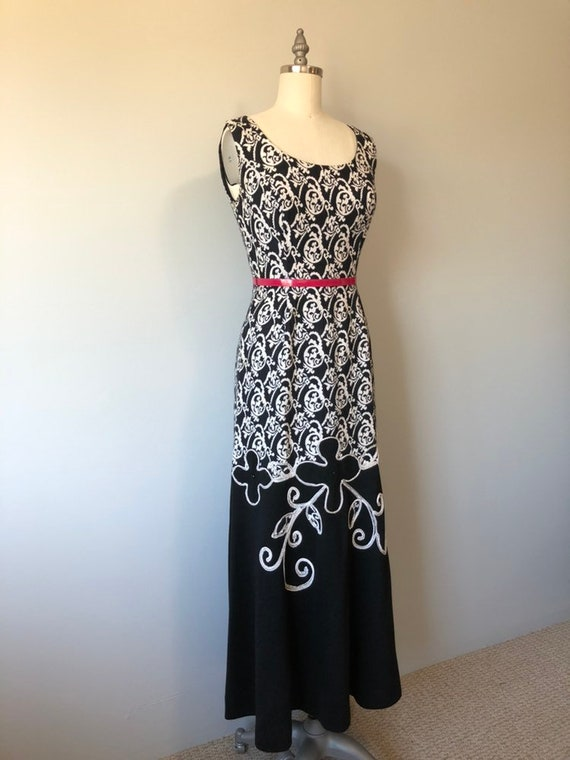 Rockabilly Vintage Dress/ Evening Gown / Beautifu… - image 4