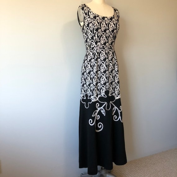Rockabilly Vintage Dress/ Evening Gown / Beautifu… - image 10