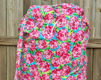 Personalized Laundry Bag - 200 fabric choices - Custom Made