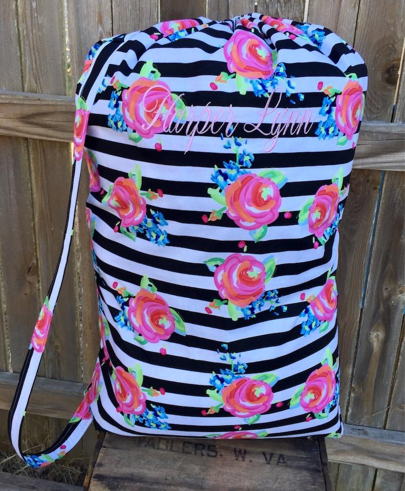 Drawstring Laundry Bag Graduation Gift Lingerie Bag Camp Bag Personalized Laundry Bag -Personalized Laundry Bag Wet Bag