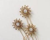 Large étoile pins, #1615