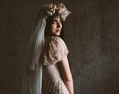 Double layer English net blusher veil, #1110