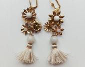 bespoke tassel earrings, #1513