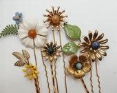 Bespoke hair pin sets, #1512