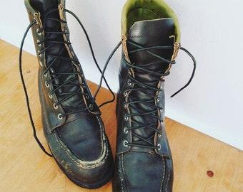 0f293540557 Boho lace up boots | Etsy