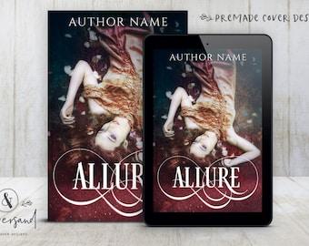 "Premade Digital eBook Book Cover Design ""Allure"" Urban Fantasy Paranormal Romance YA Young New Adult Fiction"