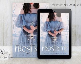 "Premade Digital eBook Book Cover Design ""FROSTBITE"" Fantasy Magic YA Young New Adult Fiction"