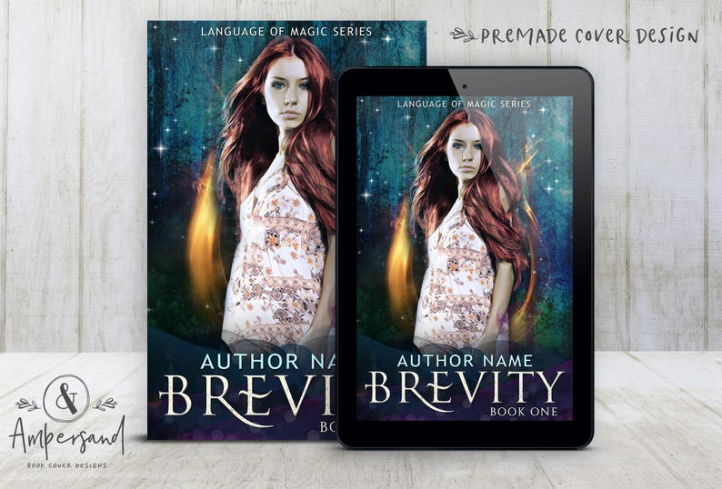Premade Digital eBook Book Cover Design