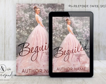"""Premade Digital eBook Book Cover Design """"BEGUILED"""" Fantasy Historical Romance YA Young New Adult Fiction"""