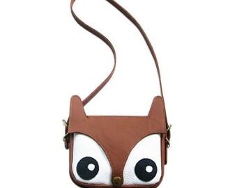 f0910fed08a6f Fox Bag Original Design, La Lisette, Skórzana Torba, torba Foxy, torba na  zwierzę, idealny prezent, prezent dla kobiet