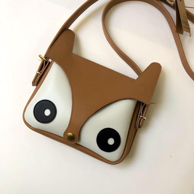 Fox Bag Original Design La Lisette Leather bag foxy bag image 0