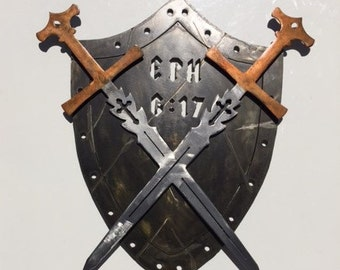 Crossed Swords and Sheild