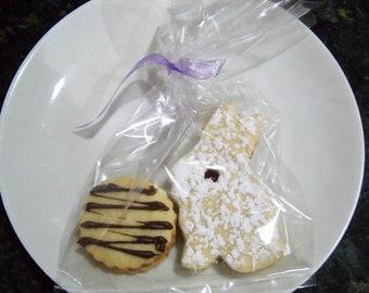 10 Pack of Linzer Tart Bunny/round cookies,Europian,Hungarian,Tea cookies,Filled Butter Cookies