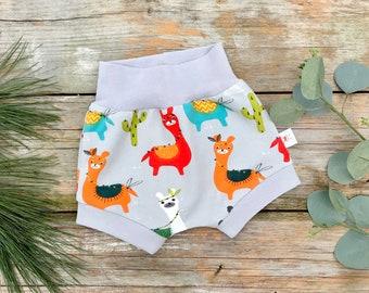 Llama Baby Shorts, Shorties, Unisex Baby Shorts, Kids Shorts