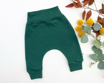 Dark Green Baby Pants