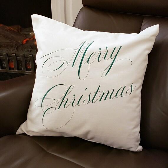 ON SALE Mery Christmas, Pillows, Christmas Pillows, Decorative Pillows,  Throw Pillows, Pillow, Christmas Decor, Christmas Gift, Bench pillow