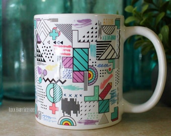 Pastel Geometric Doodles Mug