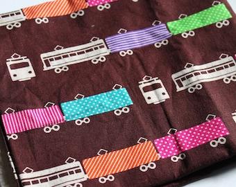 Destash Fabric, Echino ni-co, Train