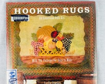 Rug Hooking Book: Hooked Rugs - An American Folk Art by Leslie Linsley