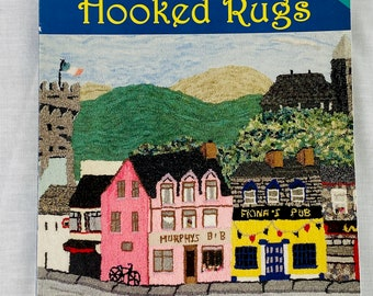 Rug Hooking Book:  Pictorial Hooked Rugs by Jane Halliwell Green