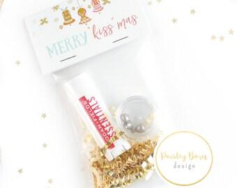 Merry KISSMAS Gift Giving Kit | Skincare, Rodan+Fields, gift, teacher, friend, co-worker, Santa, vintage, chapstick, lip balm