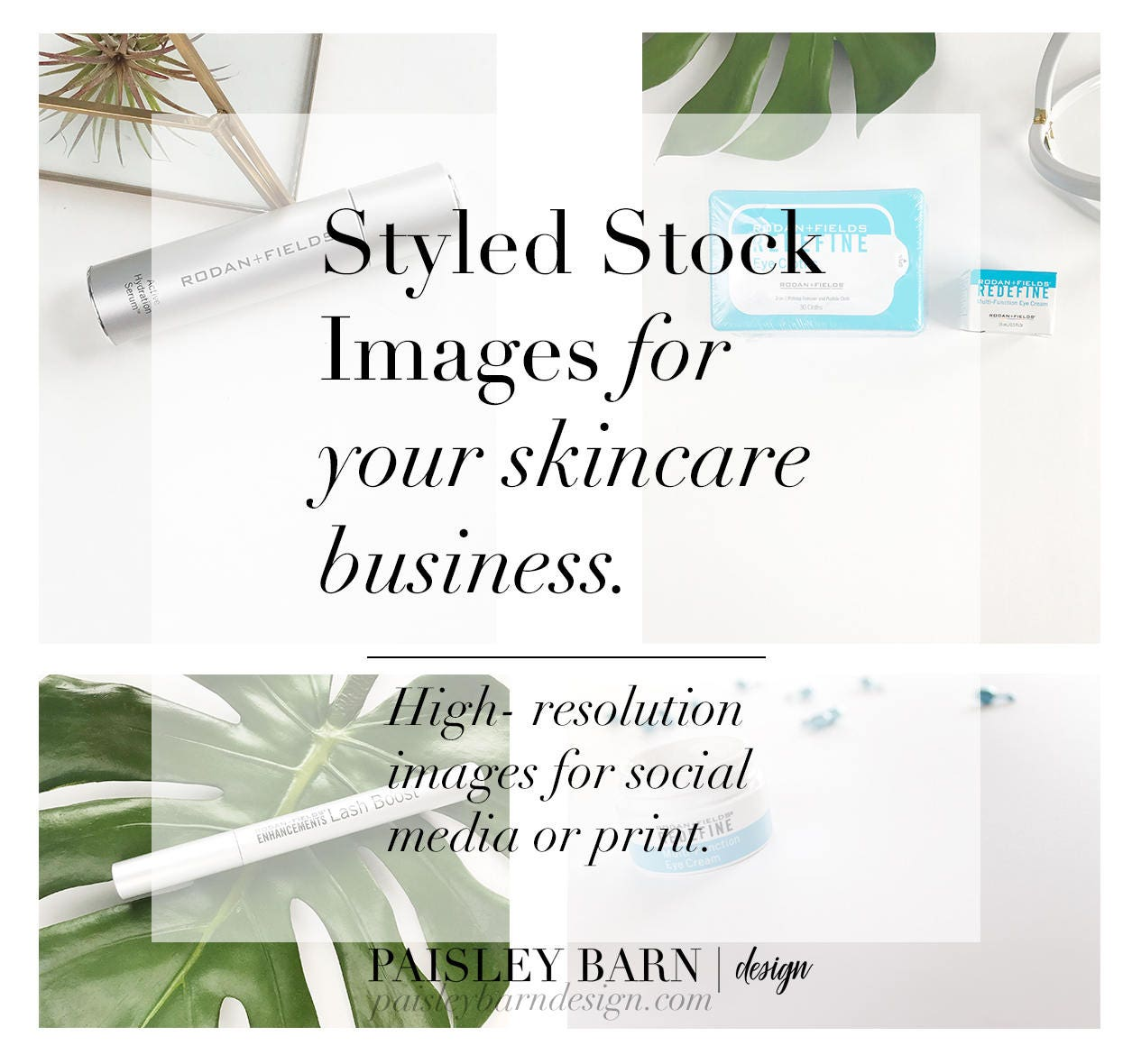 Styled Stock Skincare Collection | mini facial, Rodan Fields ...