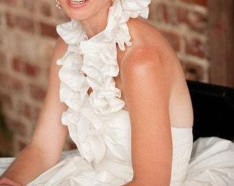 Silk Taffeta Wedding Gown