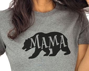 Mama Bear Shirt | Mama Shirt - Mothers Day Gift - Womens Shirt - Mom Day Gift, Wife Shirt, Mama Bear Tshirt Mama Shirt Soft, bear tee