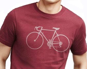 Bike Shirt - Bicycle T-shirt - Mens Shirt - Cycle Bike Gift - Fathers Day Gift - Bike Gift for Husband - Bicycle Clothing - Biking Gift