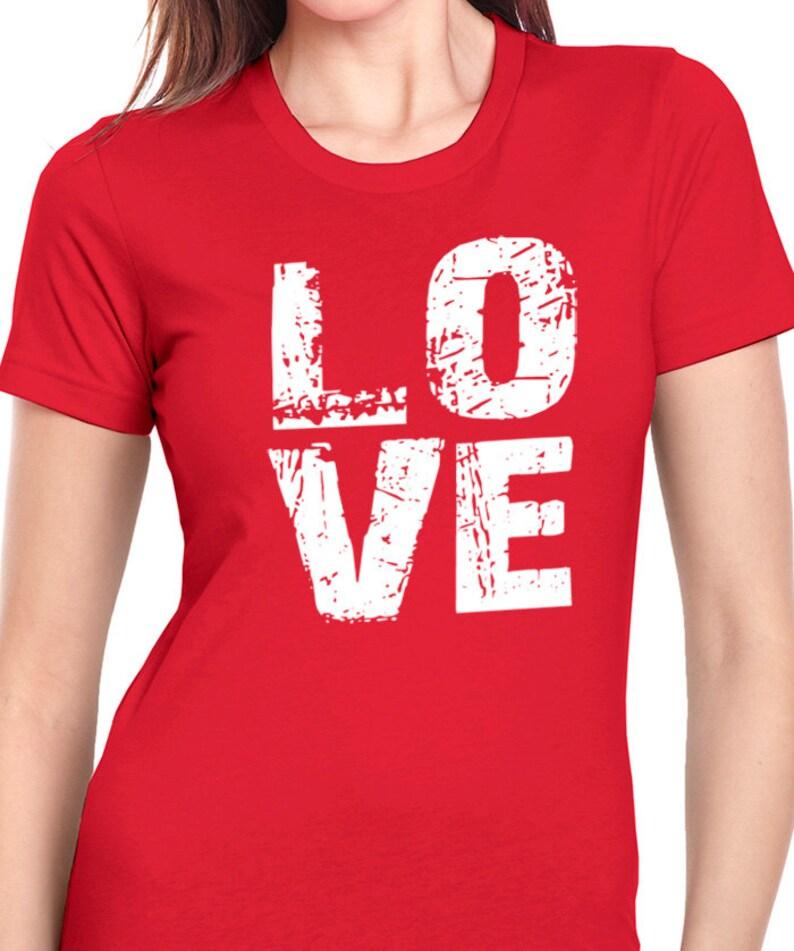 f19e5523 Valentines Day Gift Wife Shirt Love TShirt Womens T Shirt | Etsy