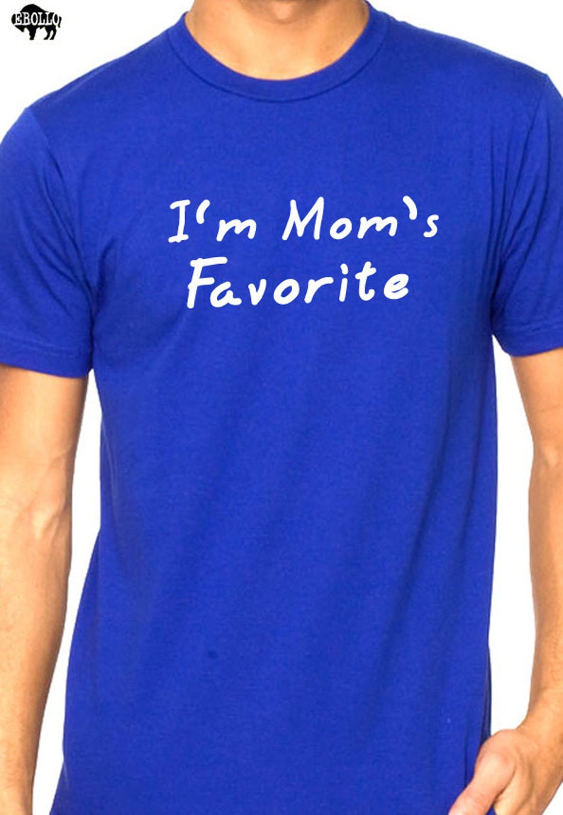 97676a74f Mom Shirt I'm Mom's Favorite Shirt Mothers Day Gift   Etsy