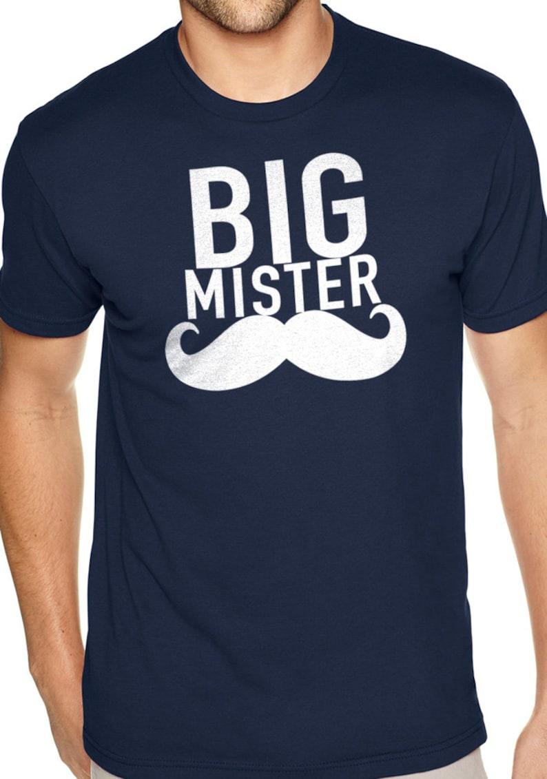 9f209c76 Big Mister Dad Mustache Daddy Shirt Mens T Shirt Tshirt | Etsy