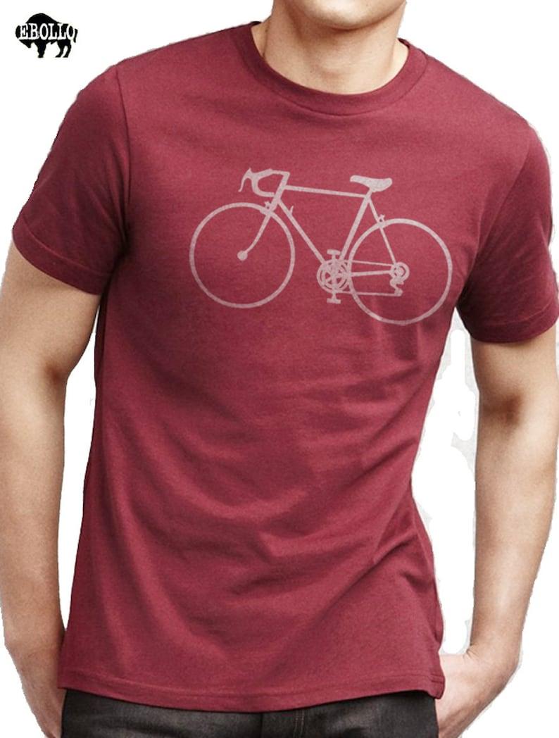 ff8aa89d Bike Shirt Bicycle T-shirt Mens Shirt Cycle Bike Gift Dad Gift | Etsy