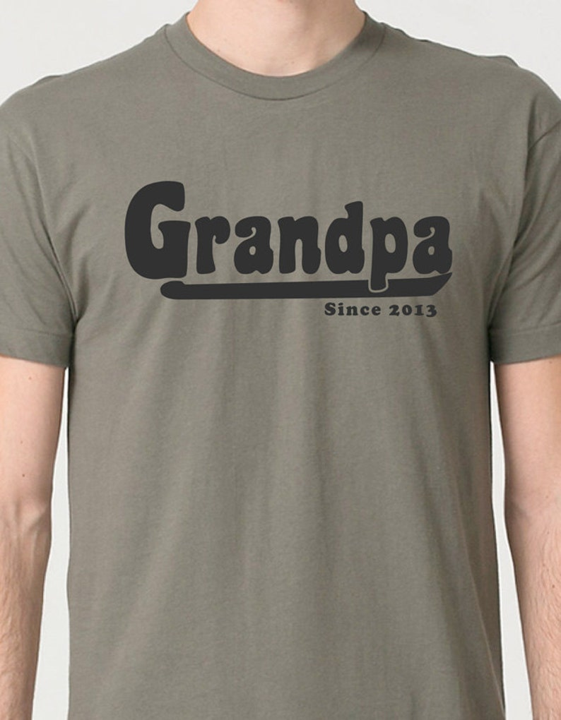 a8d35d1f Father's Day Gift Grandpa Gift GRANDPA T Shirt Mens   Etsy