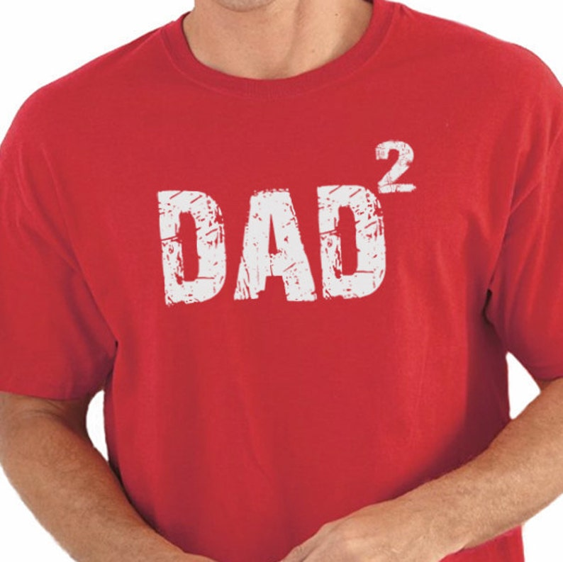 486d71edc Husband TShirt DAD 2 T-Shirt Mens T Shirt Fathers Day Gift | Etsy