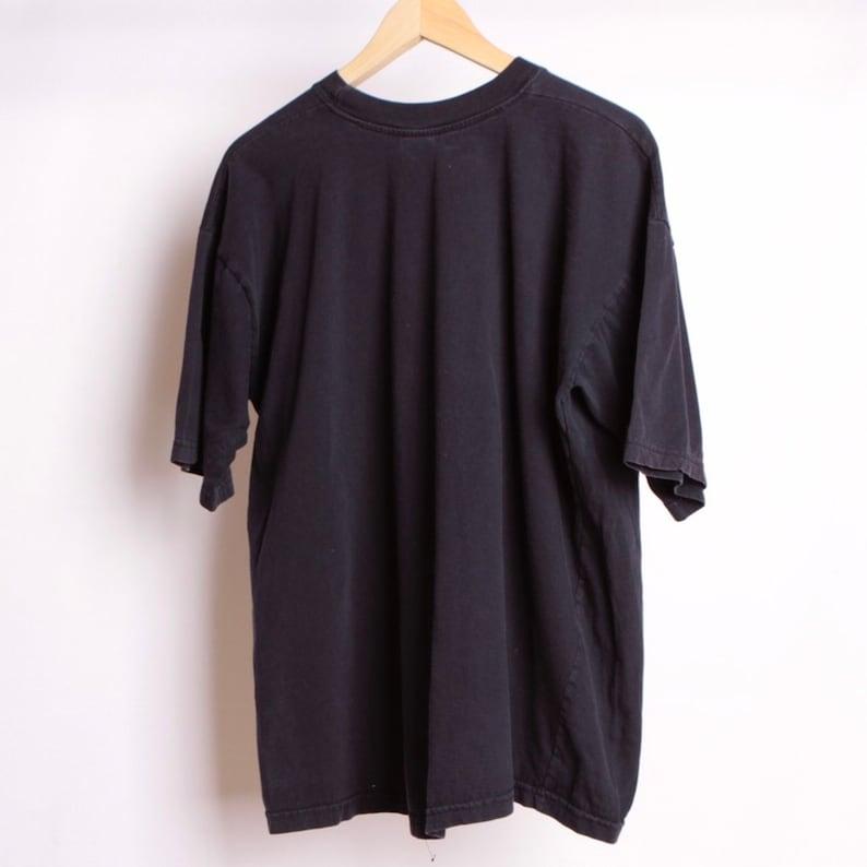 pacific northwest FISH oversized black all over print seattle GRUNGE portland t-shirt size XXlarge