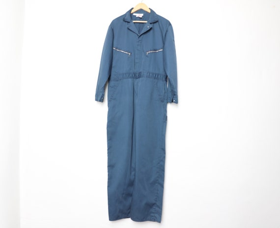 vintage DICKIES blue coveralls late 1990s work wea