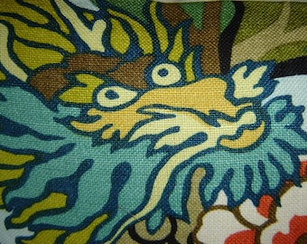 Schumacher CHIANG MAI DRAGON Fabric Yardage All Colorways