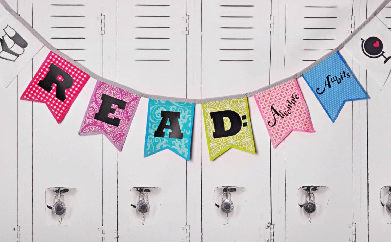 Adventure Awaits Banner School Decor Reading Banner Etsy
