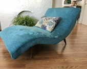 MID CENTURY MODERN Adrian Pearsall Wave Chaise Lounge LosAngeles