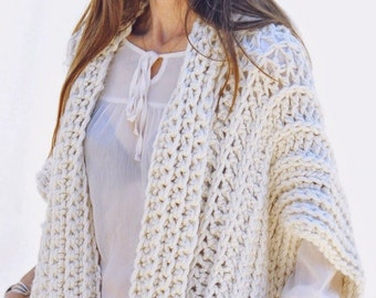1f5b465669b60 CROCHET PATTERN pdf Instructions to Make  the Montreal Crochet Vest Crochet  Pattern