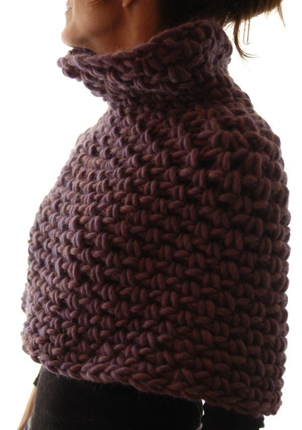 Instructions to make: Magnum Capelet 4 crochet PDF crochet | Etsy