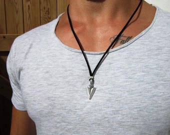 Mens necklace etsy more colors aloadofball Image collections