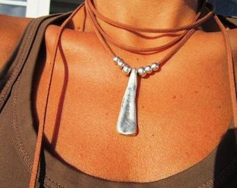 wrap necklace, minimal necklace, Boho jewelry, bohemian jewelry, hippy jewelry, bohemian necklaces, boho necklaces, minimalist jewelry