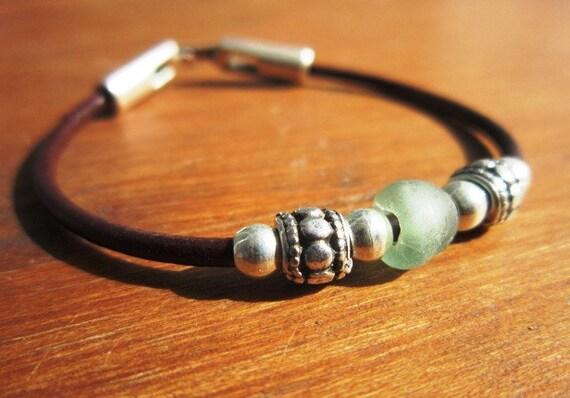 Seaglass  bracelet, seaglass jewelry, blue jewelry, turquoise jewelry, summer jewelry, beach bracelet, beach jewelry, summer bracelet