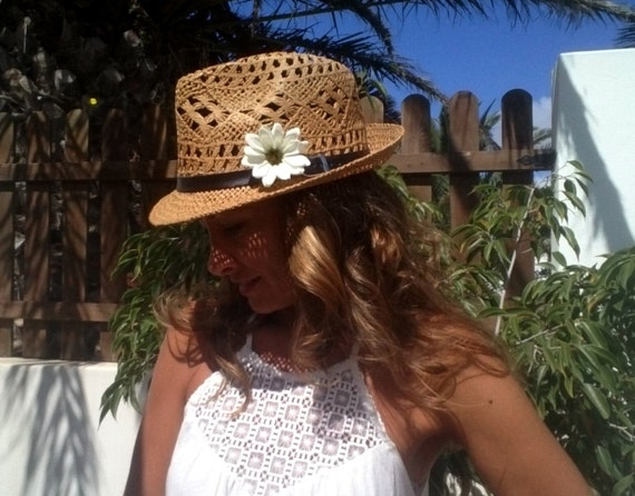 festival style ivory fedora hats for women design by kekugi sun hat Personalized straw women hat trendy hats