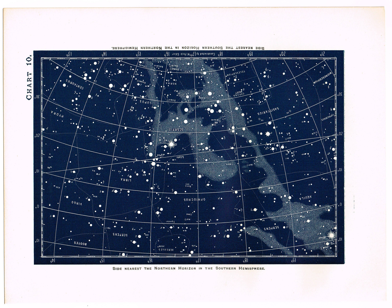 astronomy star charts - HD3000×2360