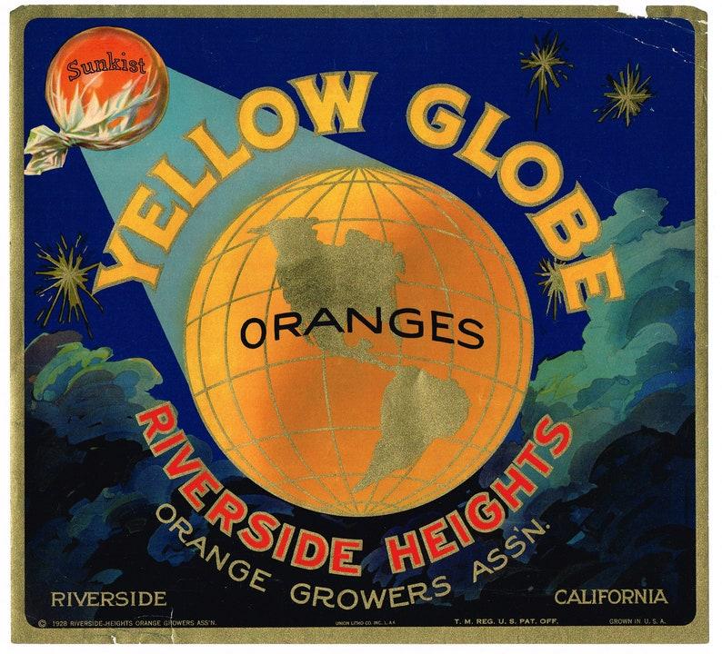 Corona CA HOMER PIGEON Orange Crate Label